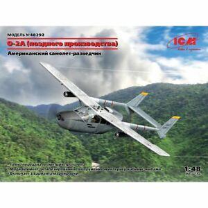 Icm Icm48292 O-2A (production tardive), avion d'observation de l'USAF 1/48
