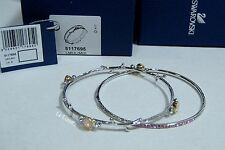 Swarovski Candy Bangle Set of 2, pastel-colored crystals Authentic MIB 5117695