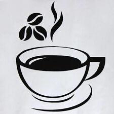Beautiful Coffee Mug Tea Coffee Art Decal Wall Stickers Kitchen Restaurant Decor