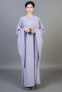 High quality Haiqing layman robe Shaolin Temple monk meditation clothes