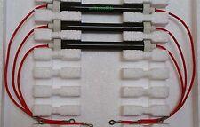 SET OF 3 NEW BULBS/HEATING ELEMENTS for EdenPURE 500 XL GEN3 500 Infrared Heater