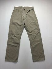 LEVI'S 551 Chino Jeans - W28 L26 - Beige - Great Condition - Men's