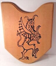 Wood Dragon Shield Kids Costume Pretend Dress Up Play Toy