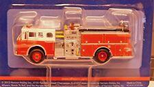 Athearn 1/87 HO Ford C Fire Truck Red W/ White Cab 92016 PLASTIC SCALE REPLICA