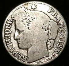 France 1888 50 Cents silver