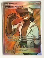 1x Professor Kukui 148//149 Full Art Ultra Rare Lightly Played Pokemon SM01