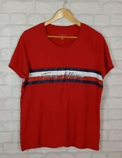 7ef6e90d VINTAGE 90s TOMMY HILFIGER BOLD RETRO ATHLETIC SPORTS FESTIVAL TOP T SHIRT