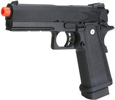 Airsoft Gun Metal Pistol 1911 Style SRC Hi-Capa [4.3] Gas Blowback 6mm BB -Black