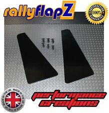 Universal miniflapZ Splash Guards - Stone Chip Protection Kaylan PU - Black (x2)