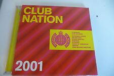 CLUB NATION 2001 - 2 CD SUPERMEN LOVERS KINGS OF TOMORROW IAN VAN DAHL ....