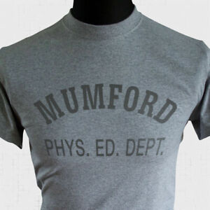 Mumford Phys Ed Dept T Shirt Axel Foley Inspired By Beverly Hills Cop Retro Tee