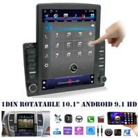 "10.1"" Android 9.1 HD 1DIN Quad-core 2+32GB Car Stereo Radio GPS Navi MP5 Player"