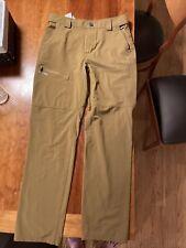 Simms Mens Medium Fishing Pants Tan / Brown