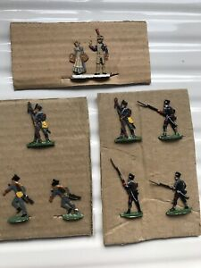 Flat Metal Toy Soldiers. Made By Kilia ? NAPOLEONIC ? Vintage