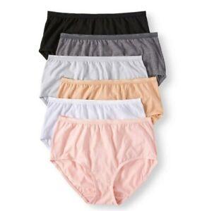 Secret Treasures Women's Plus Seamless Briefs Panties 6 Pack size 4X/14 New