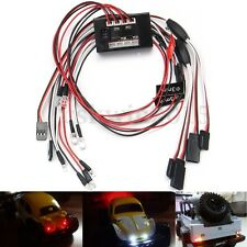 8 LED 1/10 RC Car LED Light Group 2.4GHZ Brake + Headlight + Signal Lights Kit