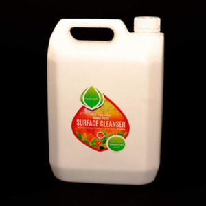 Surface Cleaner,Anti-bacterial,5 Litre.Essential Oil,Natural,Spray,Orange,refill