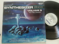 SYNTHESIZER GREATEST Volume 5 The Final Episode HOLLAND LP VINYL 1990 Synth