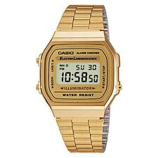 Vintage Casio A168 WG Illuminator Retro Digital Gold Watch A168WG-9 COD Paypal