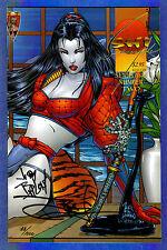 SHI : SENRYAKI # 2 - 1995  Signed & Numbered by Jae Lee & Jim Balent (with COA)