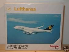 HERPA WINGS b747-400 Lufthansa Berlin - 516112 - 1:500