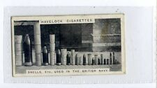 (Ju765-100)Wills Havelock,Modern War Weapons,Shells used in Navy,1915 #28