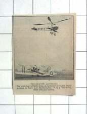 1927 Juan De La Cierva Autogyro Near Southampton, Two-seater, Dual Control