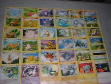 COMPLETE (39) COMMON Nonholo DIAMOND & PEARL Pokemon-Card Set- Clefairy Azuril