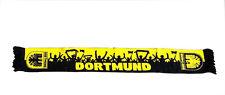 DORTMUND FUßBALL FAN SCHAL - JUBELNDE FUßBALL FANS