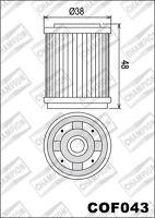 COF043 Filtro Olio CHAMPION YamahaTT600 R6001999 2000 2001 2002 2003