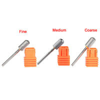 Carbide Nail Drill Bit Round Top Grit Gel Removal Burr For Nail Salon Pedicure