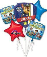5 Piece Paw Patrol Birthday Balloon Bouquet Party Decorating Supplies