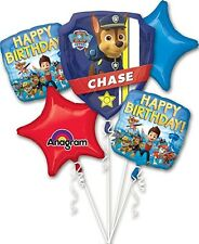 5 Piece Paw Patrol Birthday Balloon Bouquet Party Decorating Supplies