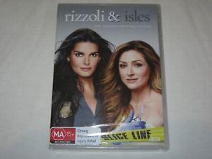 Rizzoli And Isles - Season 7 - Final - Brand New & Sealed - Region 4 - DVD