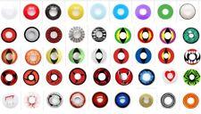 lentilles de couleur annuelles fantaisie halloween color 1 an lentillas lens