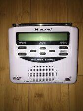 Midland WR120EZ NOAA Weather Radio All Hazards Alert Radio S.A.M.E.