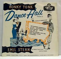 "Emil Stern - Honky Tonk Dance Hall Vol 2 - 10"" vinyl LP Felsted SDL 86049"