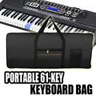 Portable Electric 61 Key Keyboard Piano Organ Carry Bag Case Waterproof Oxford