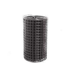 Black 2 Ft X 50 Ft 16 Gauge Pvc Coated Welded Wire Mesh Size 15 In X 15 In