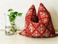 Kilim Style Geometric Cushion Cover Moroccan Decorative Pillow Case Turkish Rug