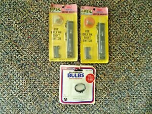 "Vintage Lot Of 3 "" NOS "" Packs Of Train items ,2,Atlas #63 ,1,Life Like No.1225"