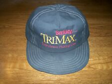 Vintage BERKLEY TriMax Snapback GORE-TEX Trucker Hat Baseball Cap Made in USA