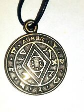 A MAGIC PENTACLE SOLOMON WEALTH  Brass CHARM Amulet Pendant ПЕНТАКЛЬ СОЛОМОНА