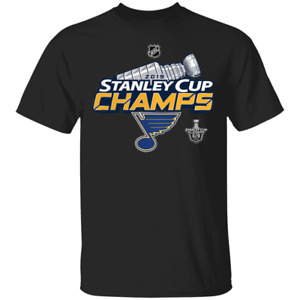 Men's St Louis Blues 2019 Stanley Cup Champions Locker Room T-Shirt S-5XL