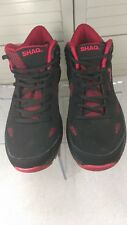 Shaq, Shaquille O'Neil Men's Black/Red High Tops Size 8.5 Basketball Shoes,7047
