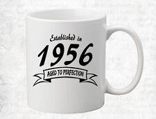 1956 Born in Year Coffee Mug Personalized Birthday Holiday Mug Gift Coffee Cup