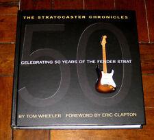 BOOK + CD: The Stratocaster Chronicles 50 Years Fender Strat Tom Wheeler Clapton