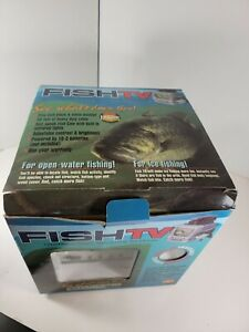"""Fish TV Underwater Viewing System Camera Ice Fishing Manual 5"""" Screen 50' Cable"""