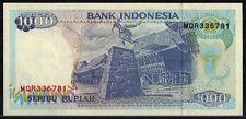 1992-97 Indonesia 1000 Rupiah UNC Notes
