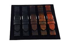20-22-24-26mm Uhrenarmband Echtleder Lederband Uhrenband NEU Schwarz, Braun,